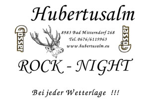 Rock 'n' Roll in Bad Mitterndorf – Hubertusalm Rocknight
